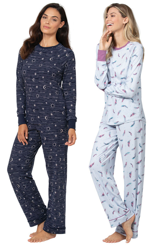 Celestial and Feather Touch PJs image number 0