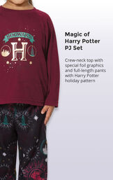 Harry Potter Girls Pajamas image number 3
