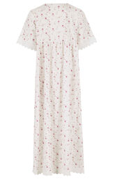 Model wearing Helena Nightgown in Vintage Rose for Women image number 3