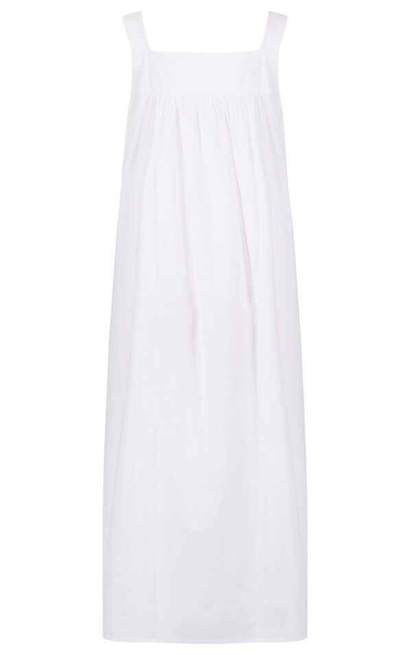 Model wearing Meghan Nightgown  in White for Women image number 5
