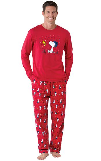 Snoopy & Woodstock Men's Pajamas