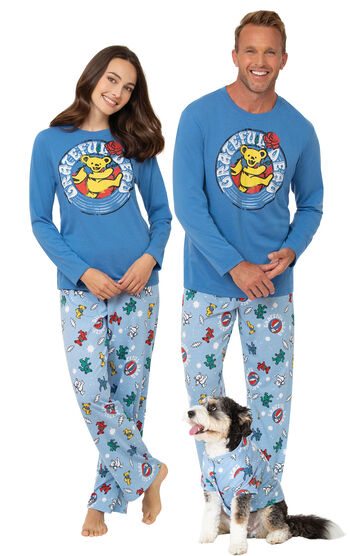 Grateful Dead His & Hers Matching Pajamas