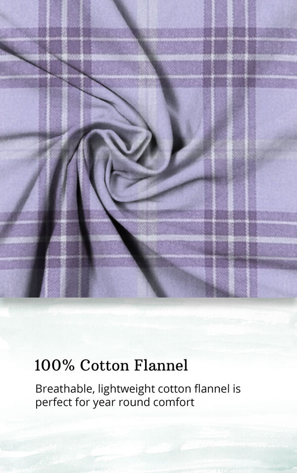 Addison Meadow Frosted Flannel Pajamas image number 4