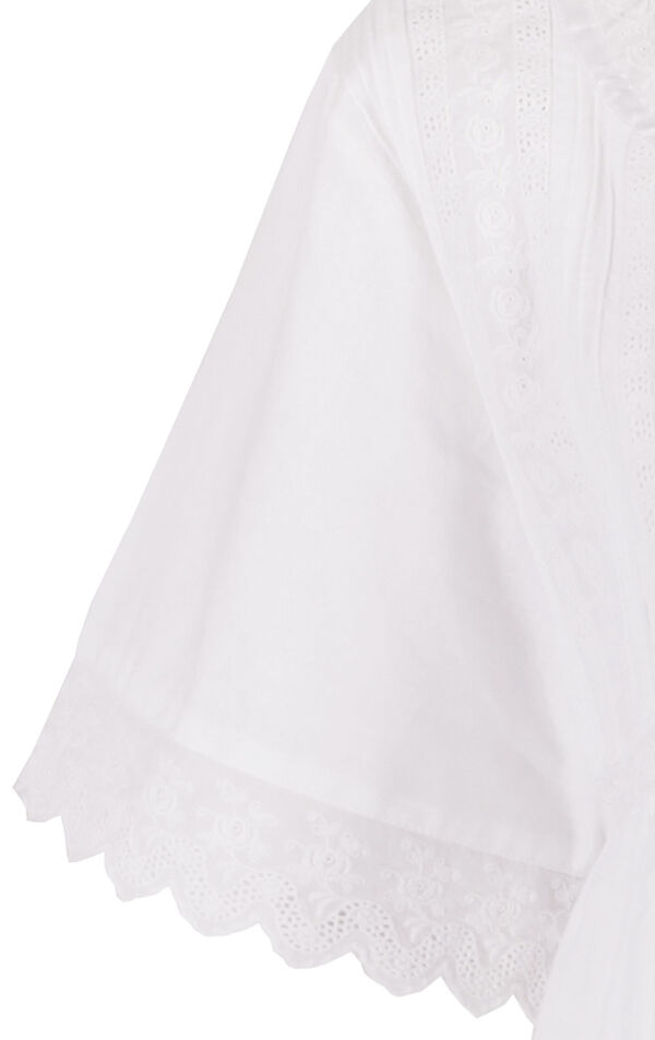 Model wearing Helena Nightgown in White for Women image number 8