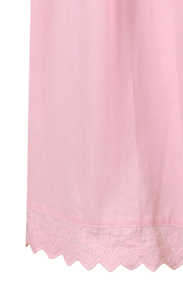 Model wearing Helena Nightgown in Pink for Women image number 6