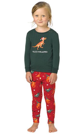 Santasaurus Toddler Pajamas
