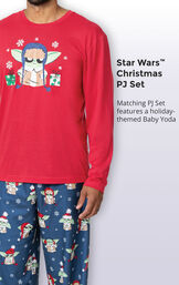 Baby Yoda Men's Pajamas by Munki Munki® image number 3