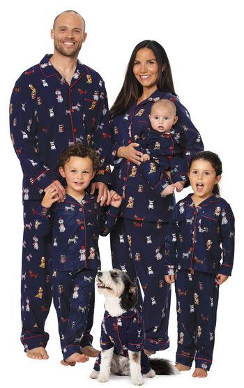 Christmas Dogs Matching Family Pajamas