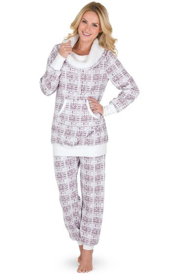 Shearling Rollneck Pajamas