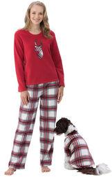 Fireside Fleece Matching Pet & Owner Pajamas image number 0
