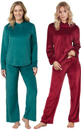 Emerald and Garnet Tempting Touch PJs Gift Set image number 0