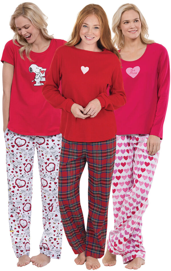 Lots of Love Pajama Gift Set image number 0