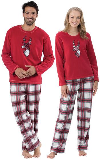 Fireside Fleece His & Hers Matching Pajamas