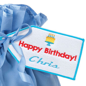 Happy Birthday! Gift Tag