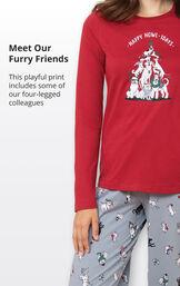 Happy Howlidays Pajamas image number 3