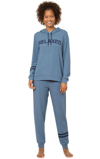 """Relaxed"" Hoodie Pajamas"