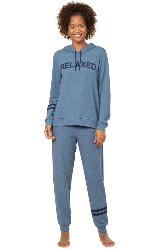 """Relaxed"" Hoodie Pajamas image number 0"