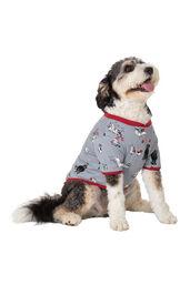 Happy Howlidays Dog Pajamas image number 0