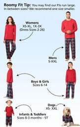 Yuletide Plaid Matching Family Pajamas image number 4