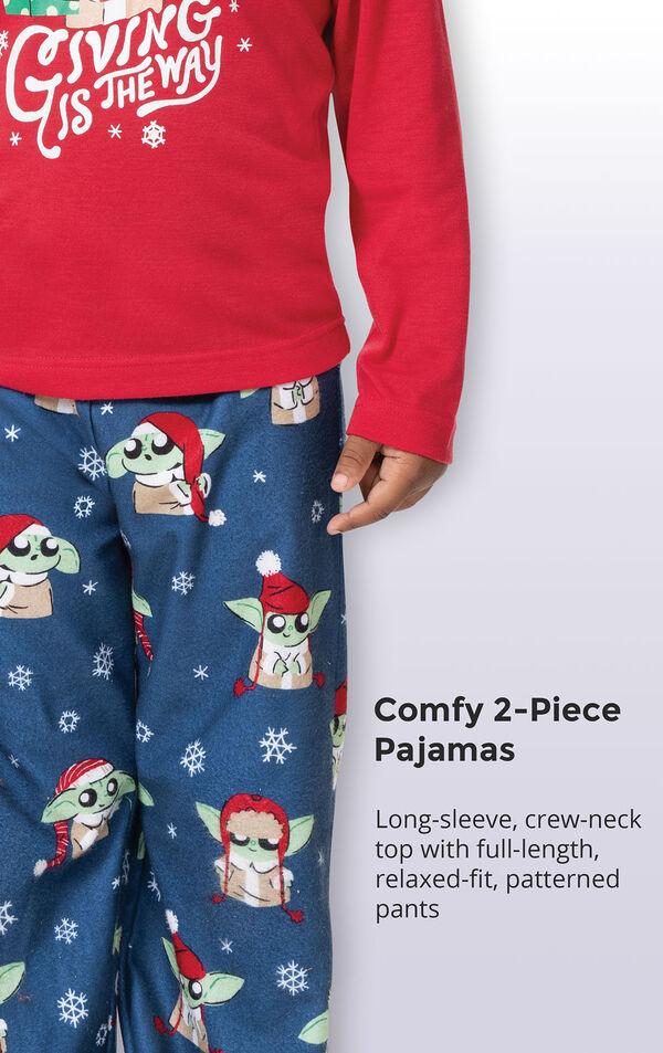 Baby Yoda Toddler Pajamas by Munki Munki® image number 4