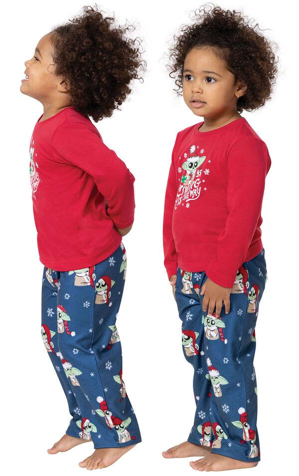 Baby Yoda Girls Pajamas by Munki Munki® image number 1