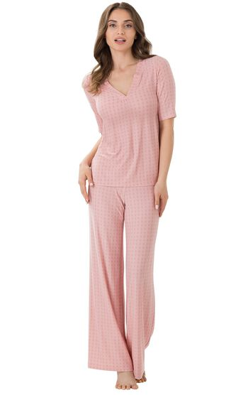Naturally Nude Pajamas - Pink