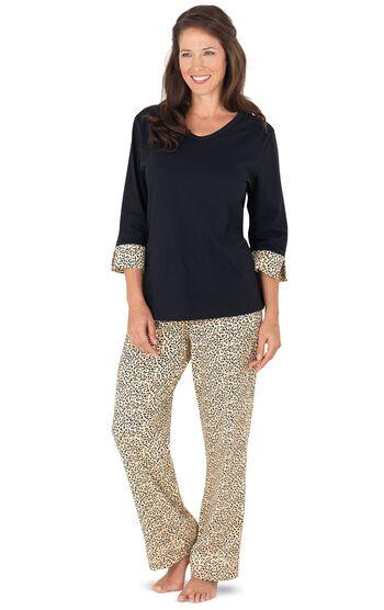 Leopard Print Pajamas