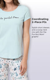 The Purrrfect Mom Women's Pajamas image number 3