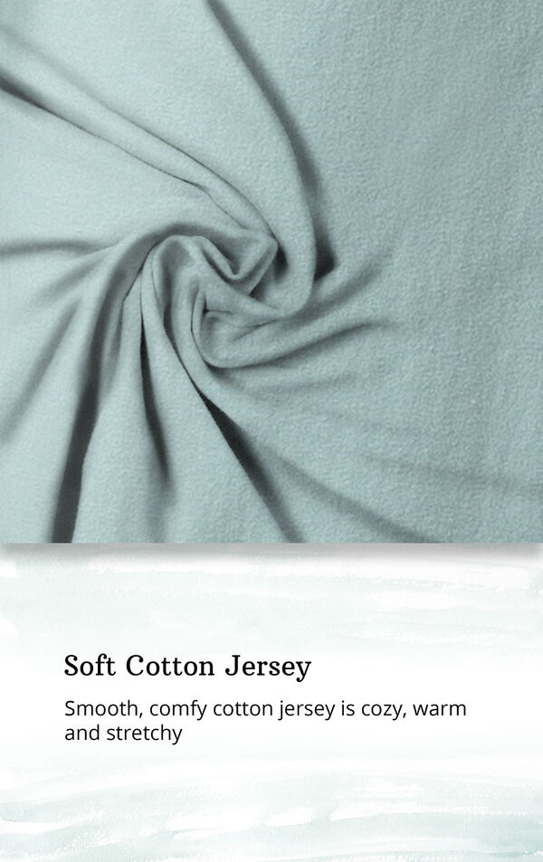 Soft Cotton Jersey - smooth comfy cotton jersey is cozy, warm and stretchy image number 5