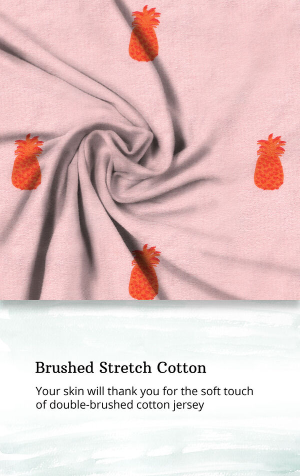 Brushed Stretch Cotton - your skin will thank you for the soft touch of double-brushed cotton jersey image number 4