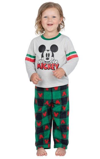 Mickey Toddler Pajamas - Red/Green