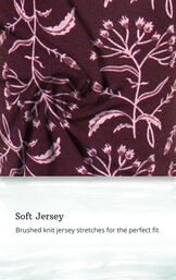 Soft Jersey - Brushed knit jersey stretches for the perfect fit image number 4