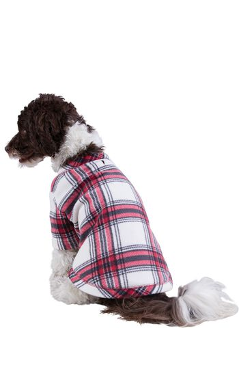 Fireside Fleece Dog Pajamas