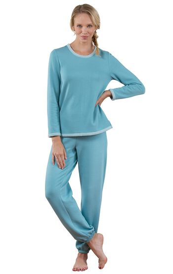 World's Softest Jogger Pajamas - Teal