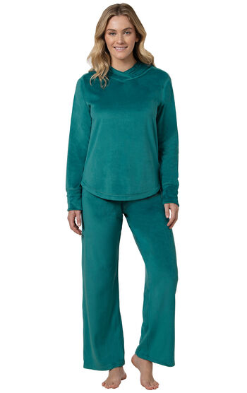 Tempting Touch Pajamas - Emerald