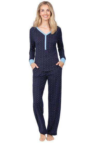 Addison Meadow|PajamaGram Whisper Knit Pajamas Henley PJs