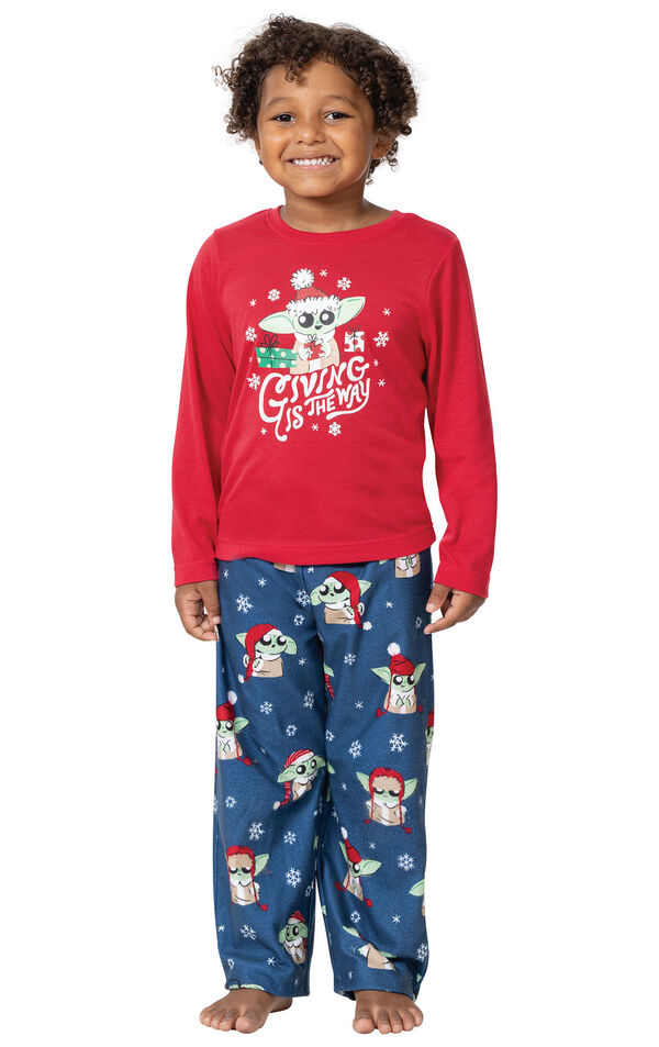 Baby Yoda Boys Pajamas by Munki Munki® image number 0