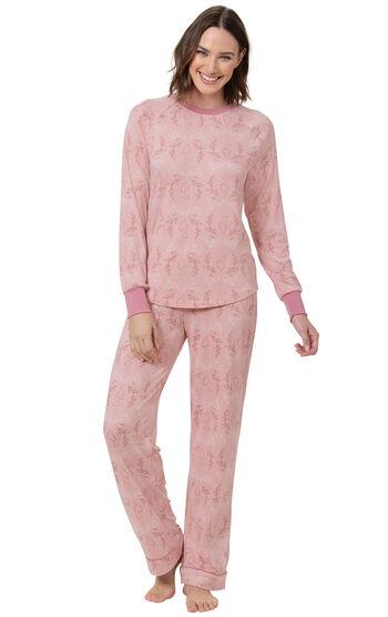 Sweet Heart Pajamas - Pink