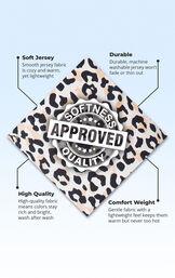 Luxurious Leopard Print Pajamas image number 5