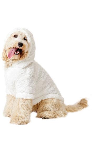 Winter Wonderland Sherpa Hoodie Dog Pajamas