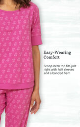 Addison Meadow|PajamaGram Whisper Knit Joggers image number 4