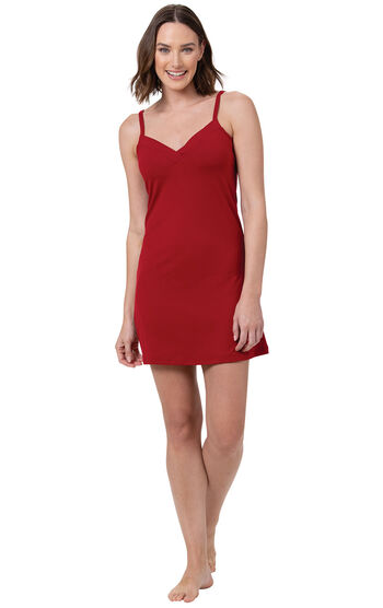 Naturally Nude Chemise - Red