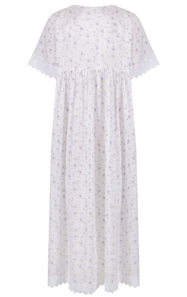 Model wearing Helena Nightgown in Lilac Rose for Women image number 3