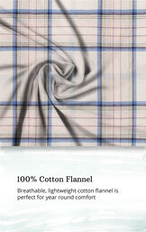 Addison Meadow Frosted Flannel Pajamas image number 6