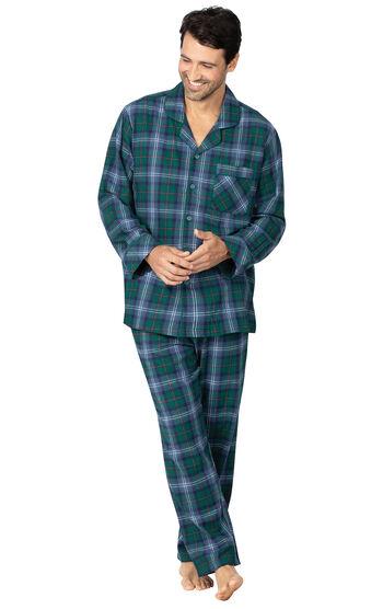 Heritage Plaid Flannel Men's Pajamas