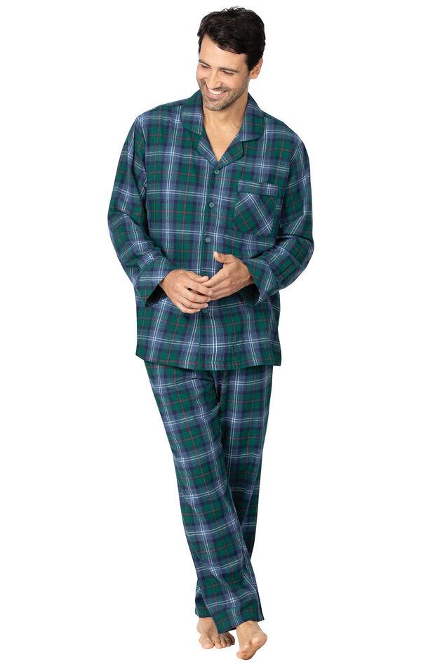 Heritage Plaid Flannel Men's Pajamas image number 0