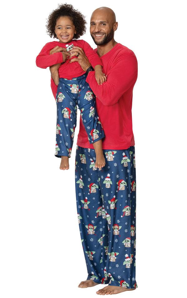 Baby Yoda Matching Family Pajamas by Munki Munki® image number 1