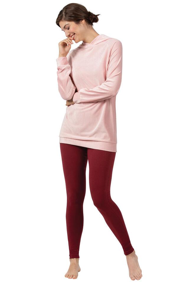 Addison Meadow PajamaGram Legging PJs in Pink image number 0