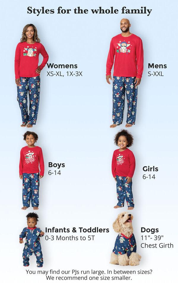 Baby Yoda Matching Family Pajamas by Munki Munki® image number 4