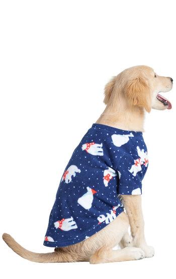 Polar Bear Fleece Dog Pajamas